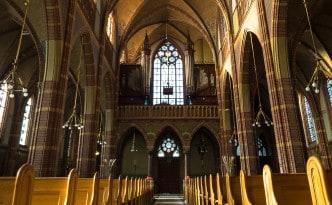 Interieur St.-Agathakerk, Lisse. Foto: Alexander Schippers.