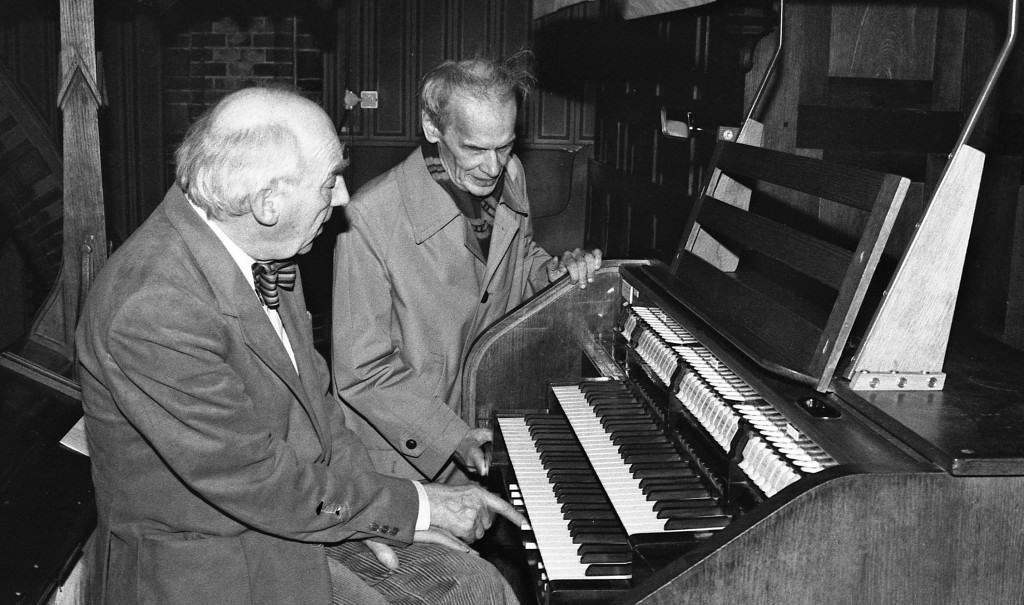 Ernest Gervais en Albert de Klerk, St.-Agathakerk, Lisse.